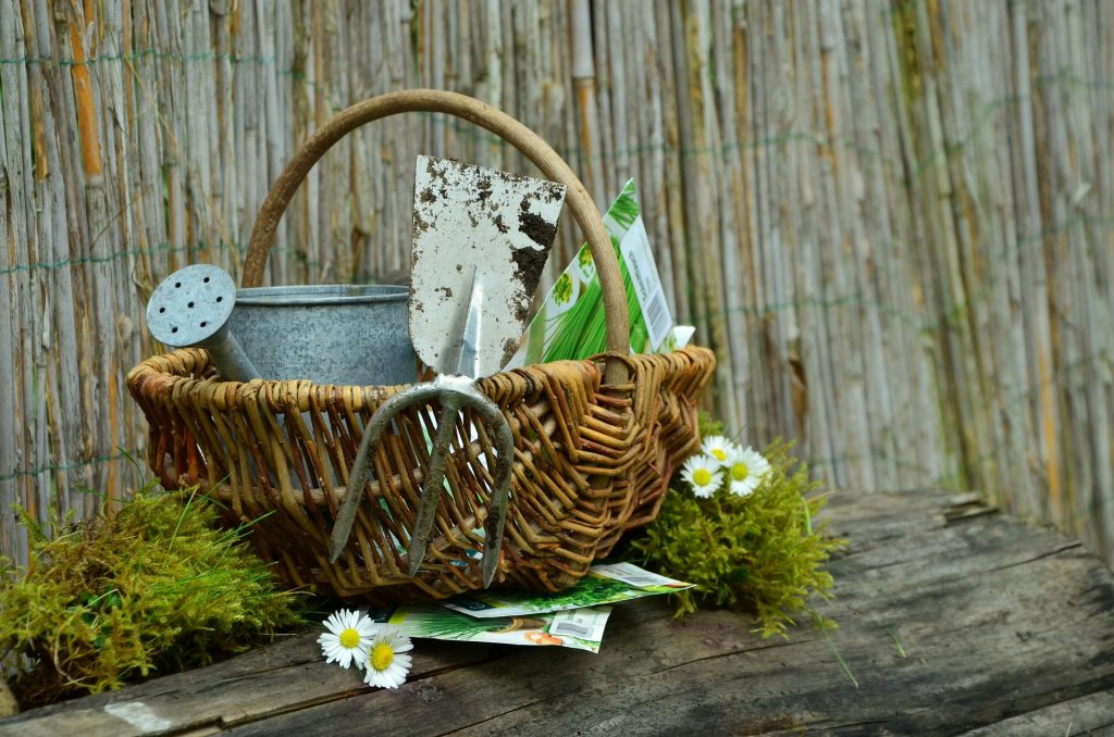 Gardening tools for people with a chronic condition